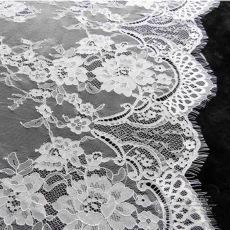 Марля вышивка кружева тканая лента гипюр швейцарский шнурок маркизета водорастворимым печать ткани для свадебных платьев 150 * 300 см купить на AliExpress