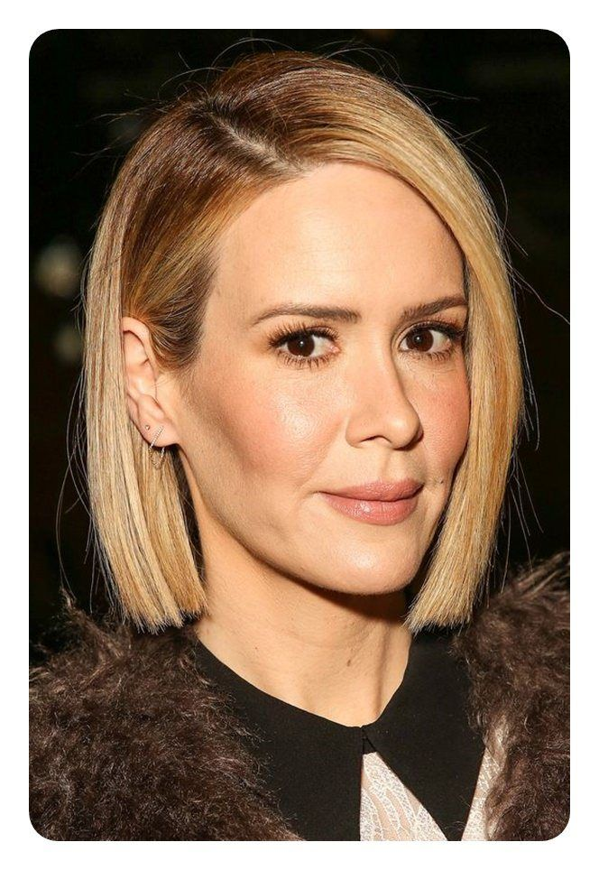 Best Blunt Bob hairstyles for the year 2018