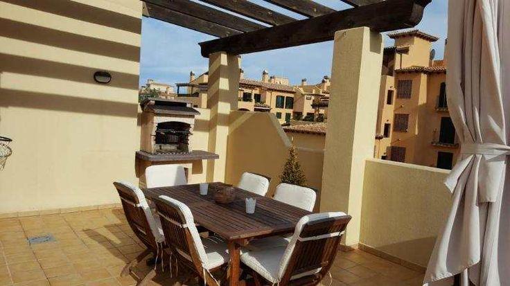 Helle 105m² Wohnung mit Marmorboden, kompletter Küche & G.-Pool: Helle Wohnung in Gemeinschaftsanlage Puig de Ros, einer beliebten Wohngegend in verkehrstechnisch günstiger Lage nah...