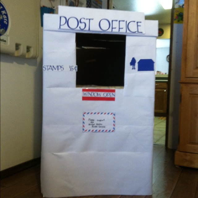 Community Helper theme - this is our Post Office. Could do ...