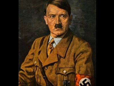 Pintura. Del dictador Austriatico. Adolf Hitler
