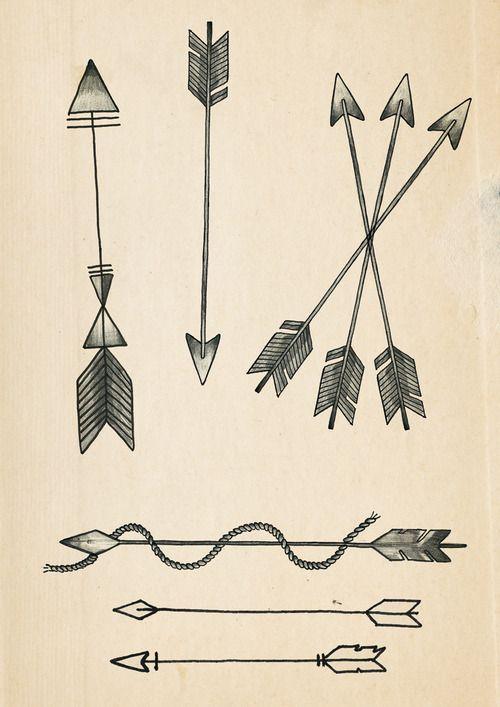 three arrow tattoo - Google Search