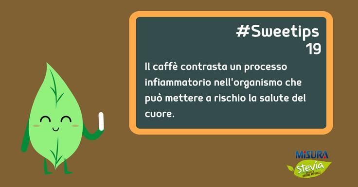 Il caffè, tutta una questione di cuore. Ovviamente senza esagerare.  #cofee #caffe #stevia #misurastevia
