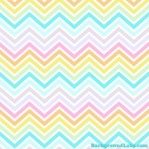 Pastel Chevron Stripes - Background Labs
