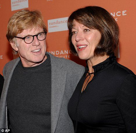 Robert Redford and new bride Sibylle Szaggars