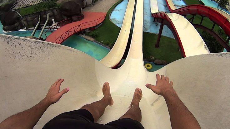 Queda Livre Water Slide at Rio Water Planet