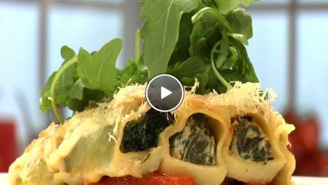 Spinazie-ricotta cannelloni - recept | 24Kitchen