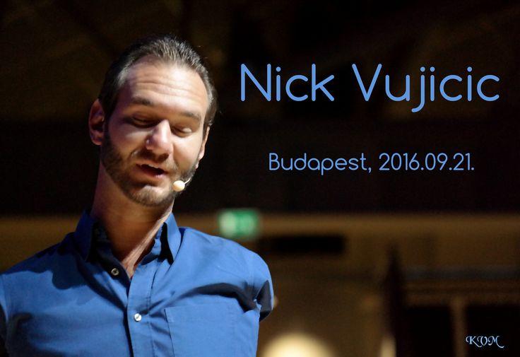 2016.09.21. Nick Vujicic és a Nem adom fel  Krasznai V. Magdolna (KVM) fotó