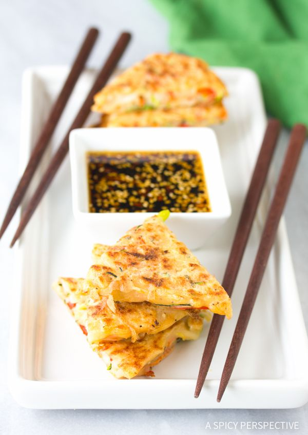 Amazing Korean Pancakes - Pajun (Pajeon) Recipe