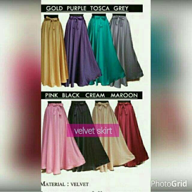 Saya menjual Velvet skirt seharga Rp115.000. Dapatkan produk ini hanya di Shopee! https://shopee.co.id/dinnydonk/6453959 #ShopeeID