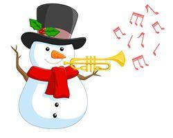 ⛄ Rudi, a kalapos trombitás hóember esti meséje :)