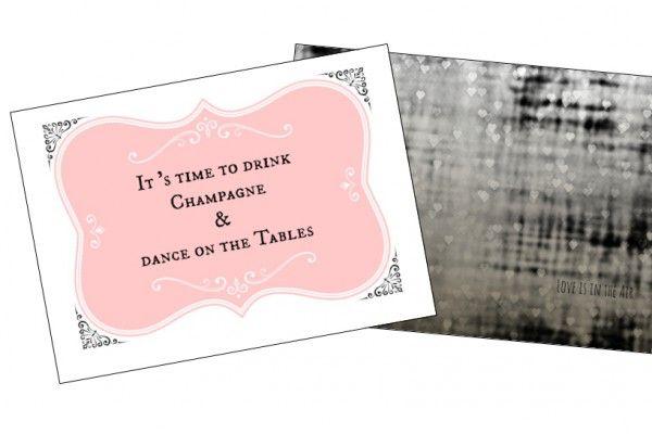 Save the date- kutsut vintagehäihin