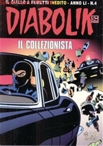 Italian comic featuring the bad guy turned good.