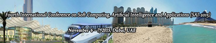 Fourth International Conference on Soft Computing, Artificial Intelligence and Applications (SAI 2015) will provide an excellent international forum for sharing knowledge and results in theory, methodology and applications of Artificial Intelligence, Soft Computing.  http://icaita.org/sai/index.html