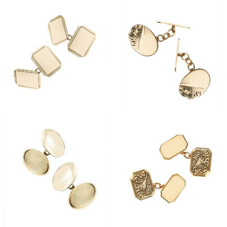 Go for gold with a pair of striking cufflinks, available on our website…