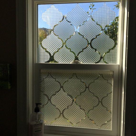 Décalcomanies de fenêtres de la vie privée