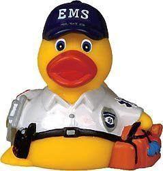 EMS EMT Emergency Medical Service Rubber Ducky | eBay