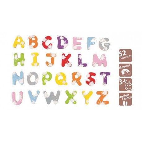Letras magnéticas imanes. 52 letras para que se inicien en esto de leer...