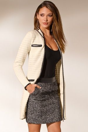Textured sweater coat | Sweater Coats Boston and Sweaters