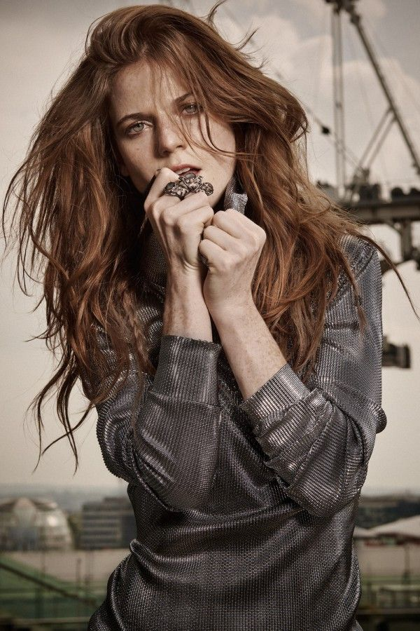 Rose Leslie for InStyle UK, November 2014
