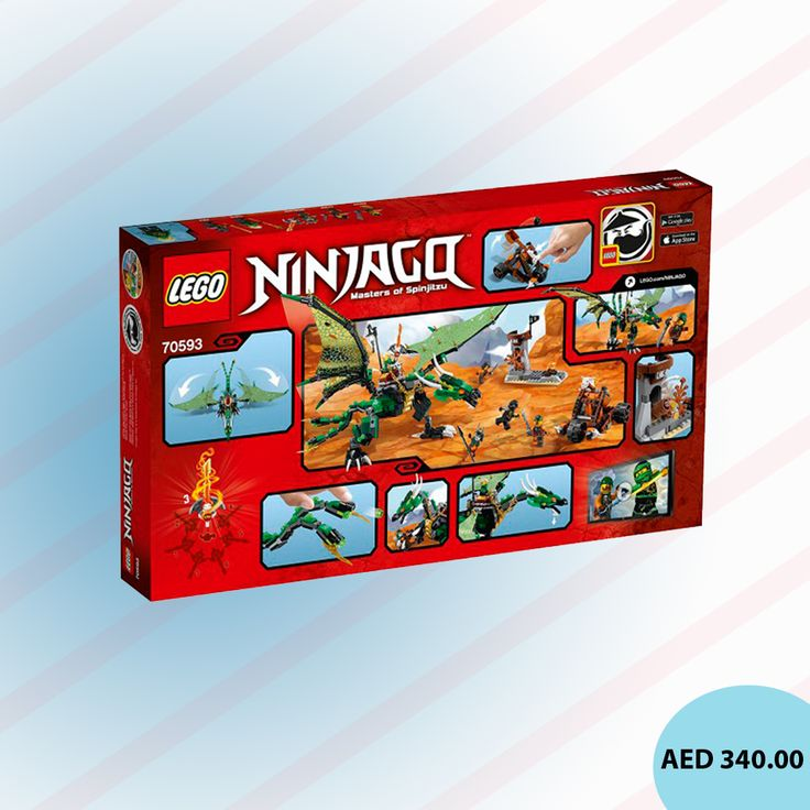 Shop for LEGO The Green NRG Dragon (70593) #LEGO #Games #toys #kidstore #toystore #online #games #playsets #activitysets #kidsgames #gaming #CreativeGames #menakart