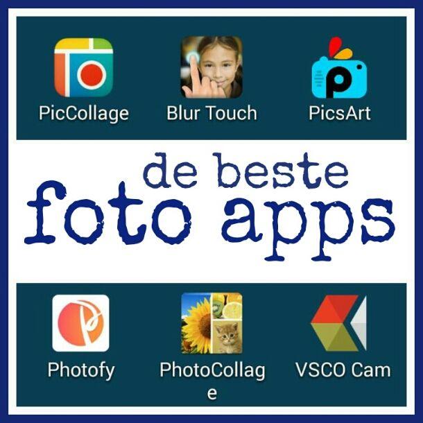 De beste foto apps voor Android, iPhone en iPad #foto #apps #leukmetkids