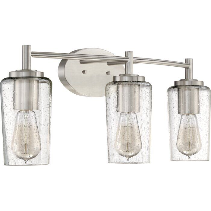 Latitude Run Ellenton 3 Light Vanity Light Reviews Wayfair Vanity Lighting Bathroom Vanity Lighting Bath Light