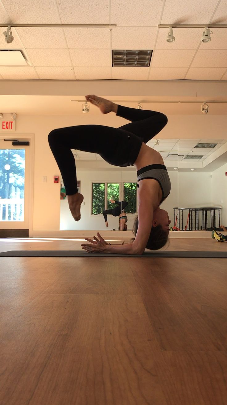 forearm stands