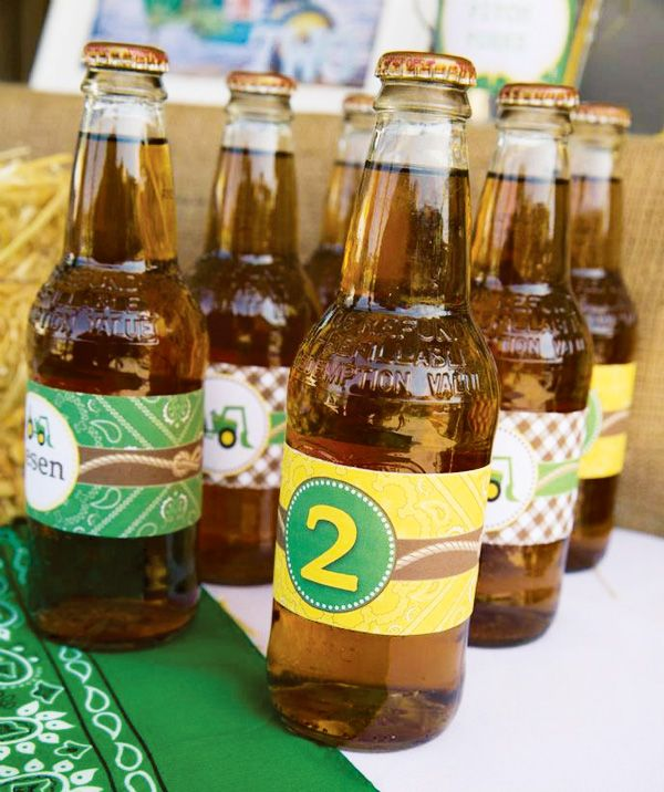 Creative John Deere Themed Party {Boys Birthday}