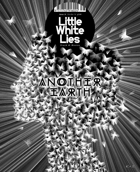 Little White Lies, Issue #38, November/December 2011  Creative Director: Paul Willoughby  Illustration by: Kai and Sunny  Studio: The Church of London  #SPDcoveroftheday