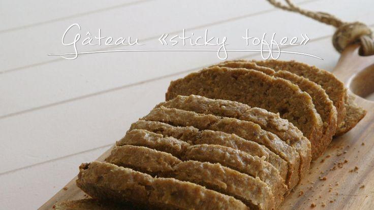 Gâteau « sticky toffee »