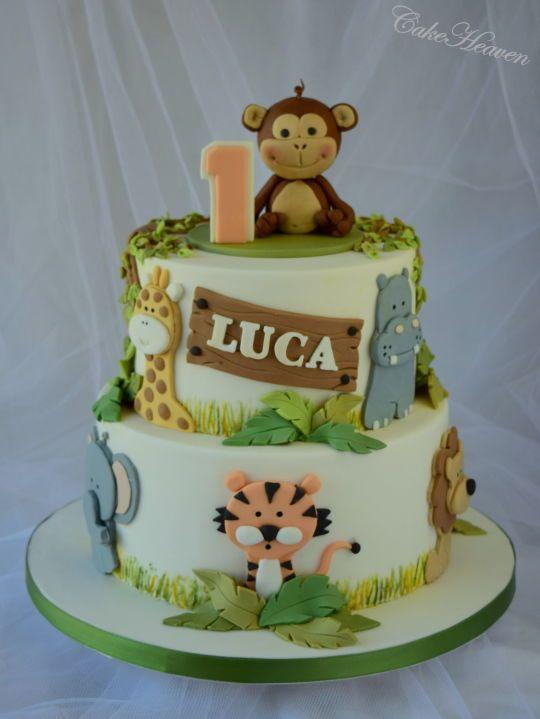 Midern First Birthday Cakes