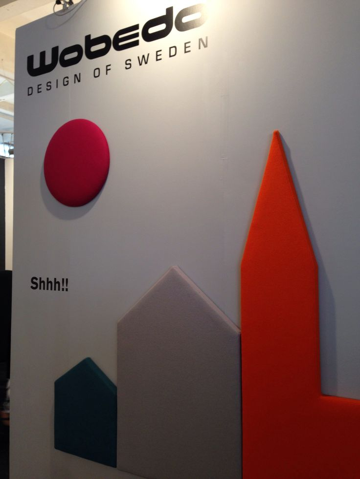 Acoustic panelling gets stylish - Wobedo at Design Junction at London Design Festival