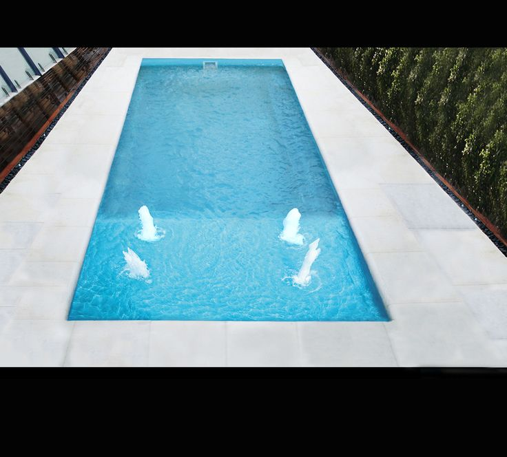Shape and ledge Leisure pools Reflection with Deck-1
