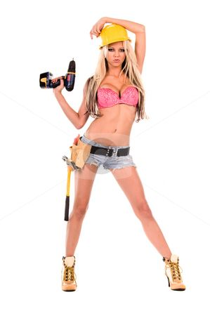 Construction Worker Halloween Costume Women