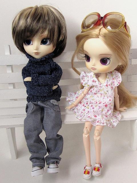 couple dolls