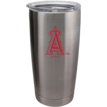 Los Angeles Angels Travel Tumbler 20 oz Ultra Flared Silver