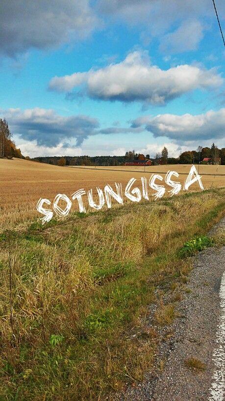 In finland, fall is beautiful