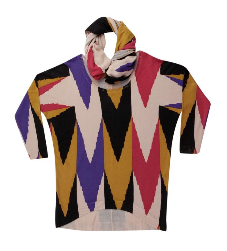 Batik 2012- 2013 Sonbahar Kış koleksiyonunda yer alan triko modelleri sınır tanımıyor… Batik, Tarsu AVM'de.