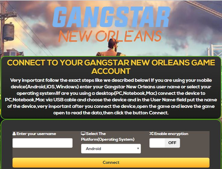 Gangstar New Orleans Hack Cheats Diamonds and Gold  Do you want to receive an Unlimited infinity number of Gold and Diamonds to your Gangstar New Orleans 2017 game — account completely free NO COST? NO MONEY $$$, Do no't wait anymore! Try our new Gangstar New Orleans Free Hack Cheats Online Tool.