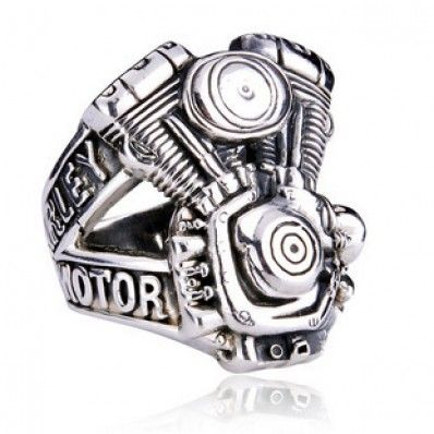Harley Davidson Ring - I can think of a few guys who would LOVE this!
