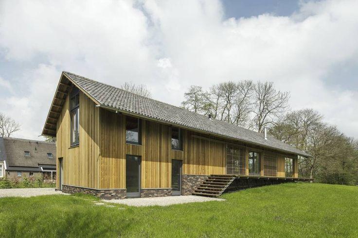 Schuurwoning Eelderwolde 2011: Industrieel Huizen door Architectuurstudio SKA