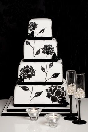 "Rachelles Beautiful Bespoke Cakes - ""Black Print"""
