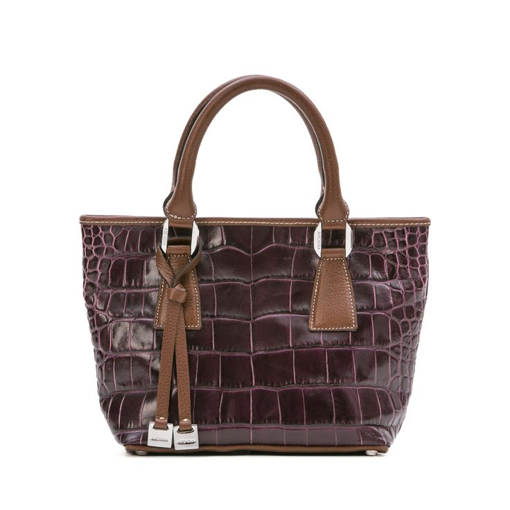 "we have a passion for the croc! this is a deep purple croc, ""Mississippi style"". Hope you like it! Available here: http://shop.arcadiabags.it/product/borsa-piccola-a-mano/viola/608"