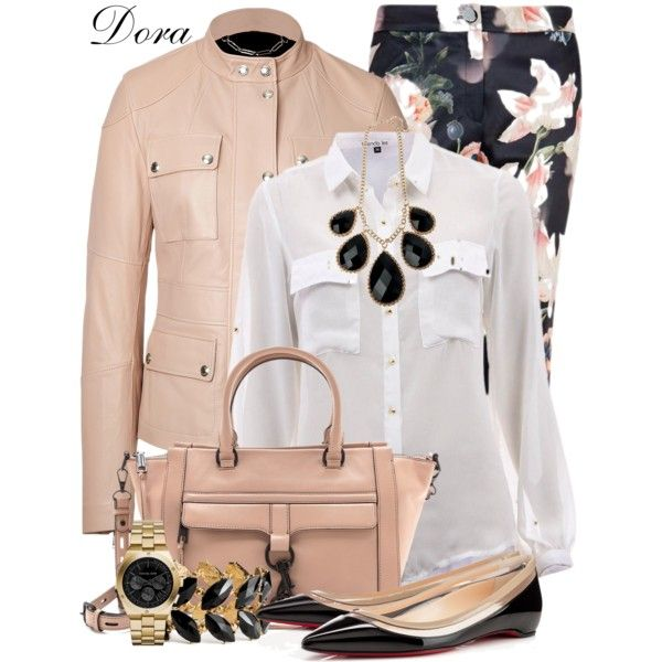 A fashion look from October 2014 featuring Belstaff jackets, Ted Baker capris and Christian Louboutin flats. Browse and shop related looks.