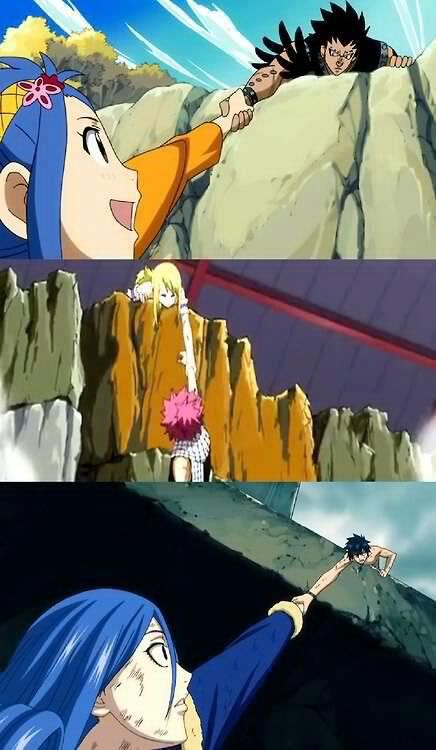 Natsu, why are YOU being pulled???