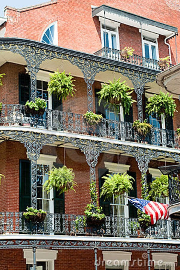 architecture in new orleans   New Orleans French Quater Royalty Free Stock Images - Image: 11315449