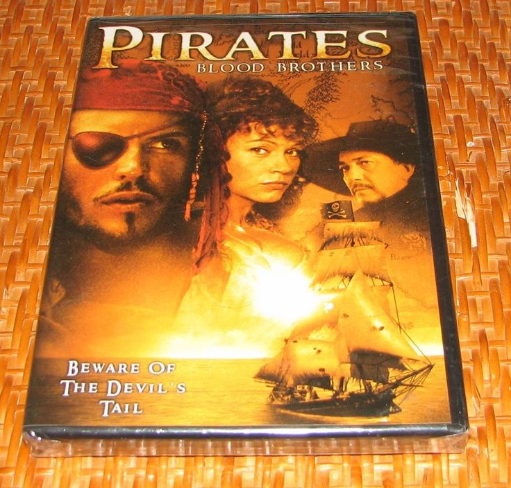 Pirates: Blood Brothers (DVD 2006) Mario Adorf, Jennifer Nitsch, NEW! SEALED! R