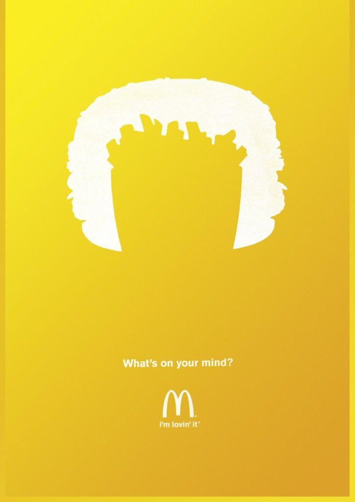 McDonald's Fries Head   http://www.gutewerbung.net/mcdonalds-fries-head/ #Advertising