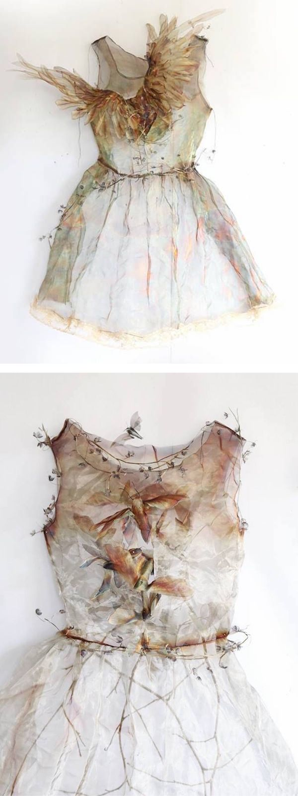 Artist Michelle McKinney plays with themes of hard and soft when she transforms industrial metals into ethereal art installations.